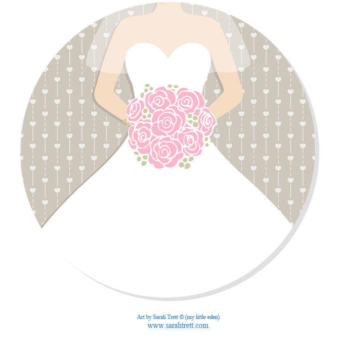 Bridal Dress Bouquet