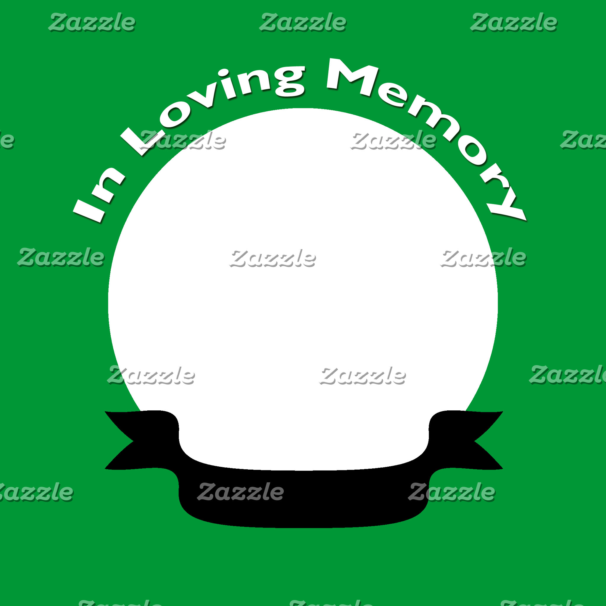 Green In Loving Memory