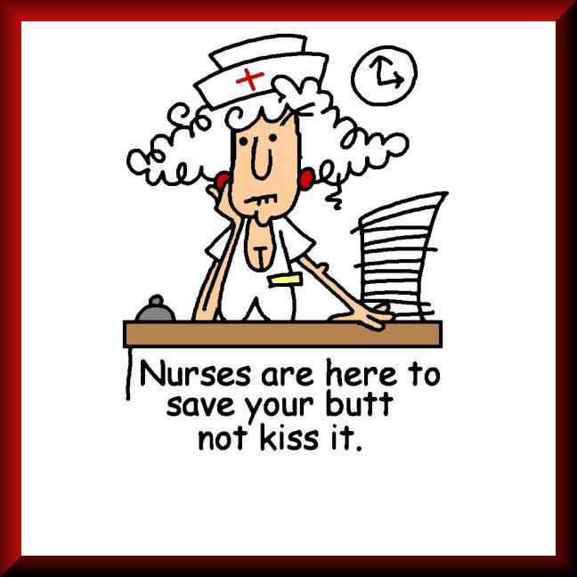 Humorous Nurse