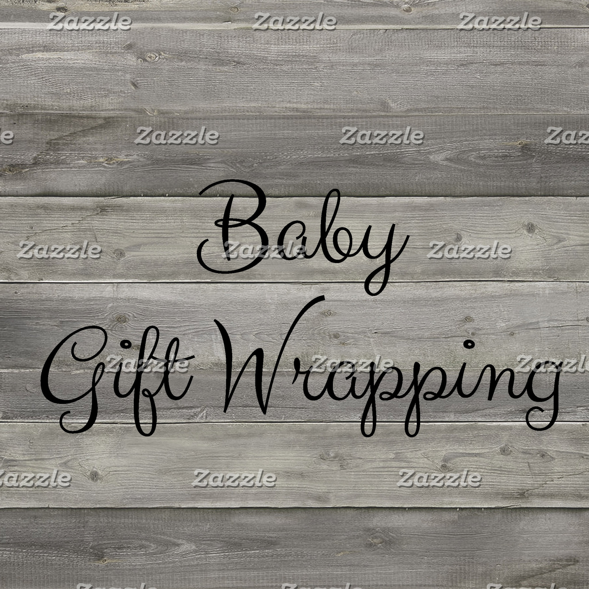Baby Gift Wrapping