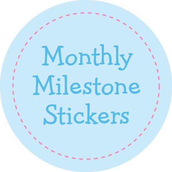 Monthly Milestone Stickers