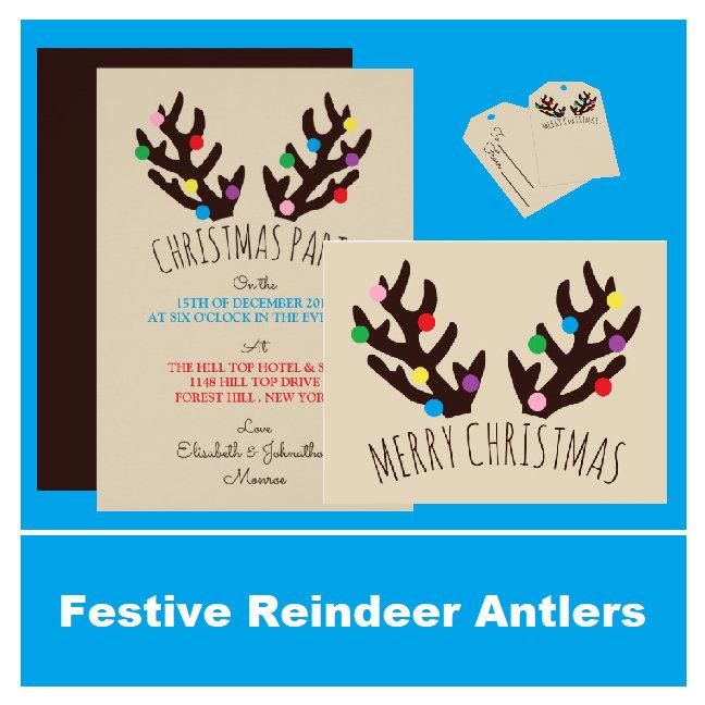 Festive Reindeer Antlers