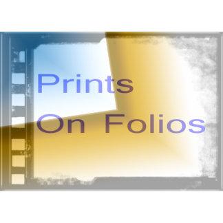 Prints on Folios