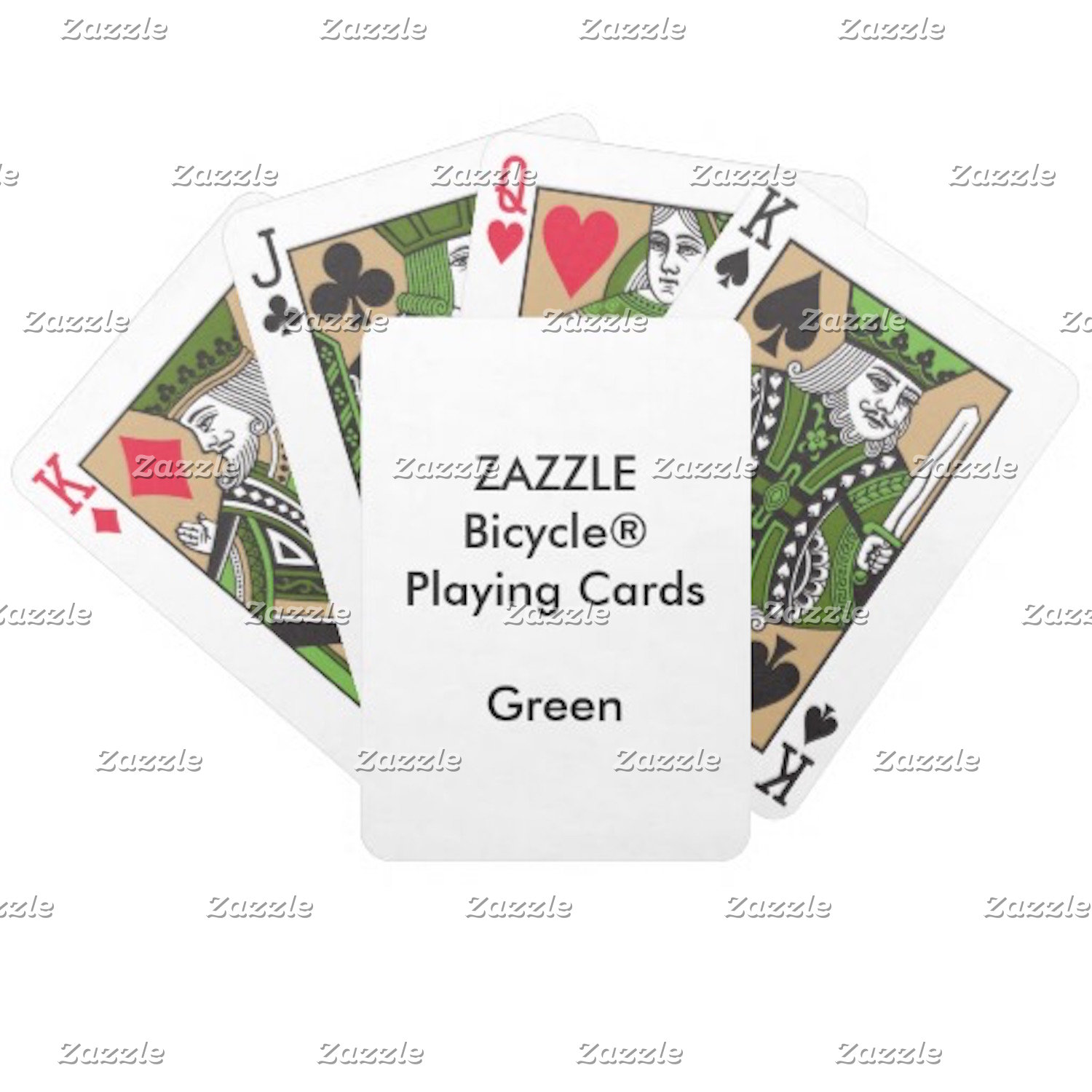 Bicycle® GREEN Faces