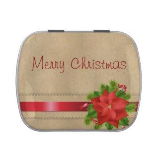 Christmas Candy Tins