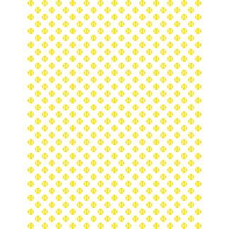 Tennis ball pattern