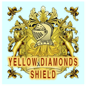 Yellow Diamonds Shield