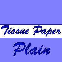 Plain Tissue Paper