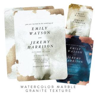 Watercolor Marble Granite Texture