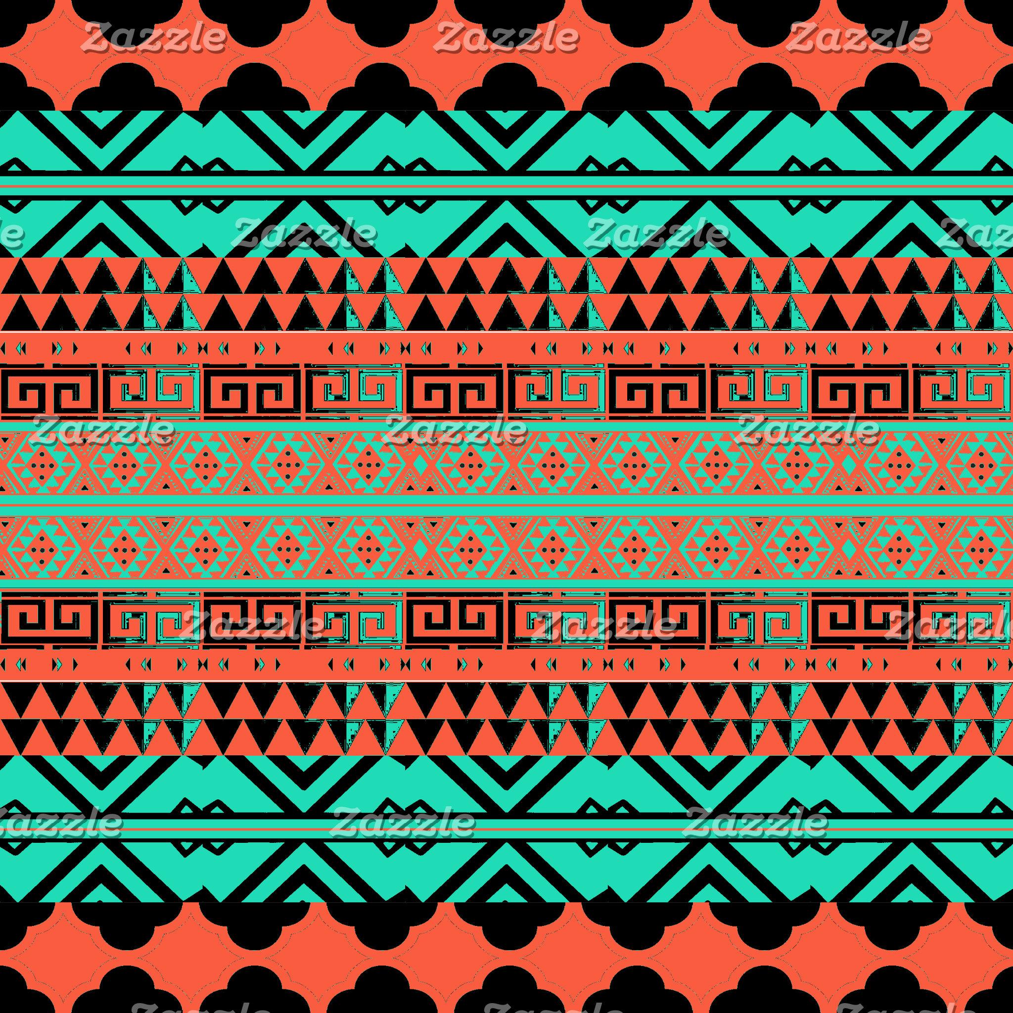 Aztec, Native, Mayan Inspired Pillows