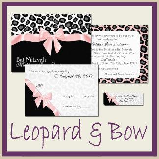 Leopard Spots and Ribbon