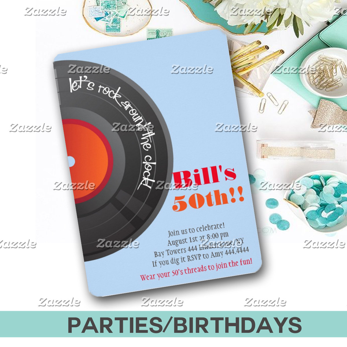 PARTIES/BIRTHDAYS