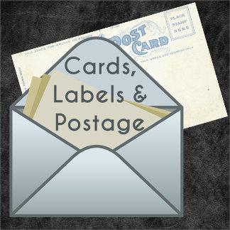 Cards, Labels & Postage