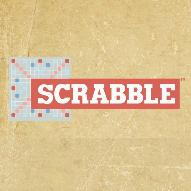 Vintage Scrabble Logo
