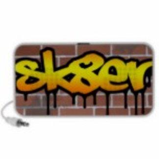Graffiti Design Custom Speakers
