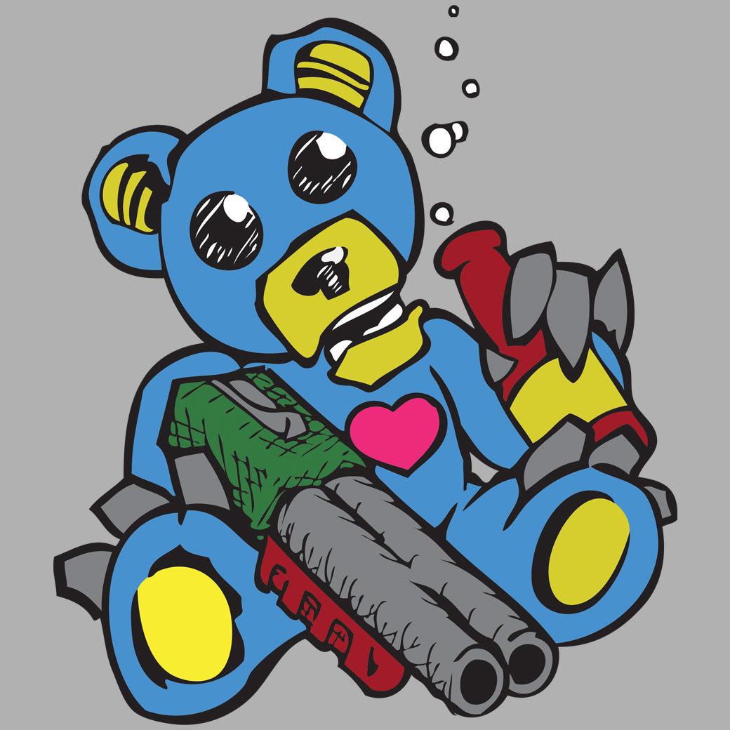 Shotgun Drunk Teddybear