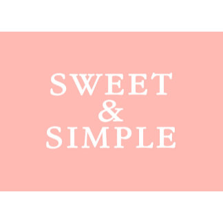 Sweet & Simple