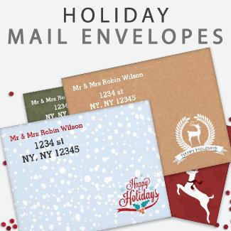 Holiday Mailing Envelopes