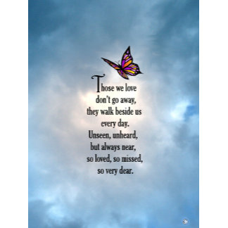 """Butterfly """"So Loved"""" Poem"""