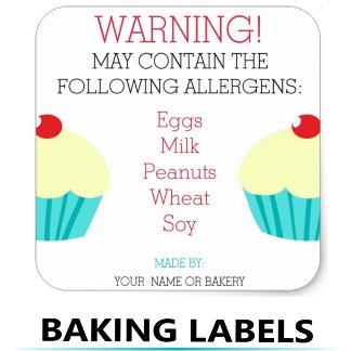 Baking Labels