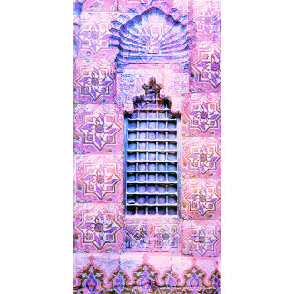 Pink Moroccan Window