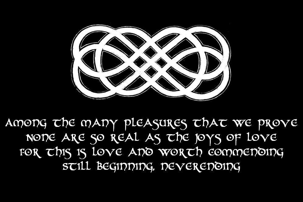 Celtic Neverending Love Knot