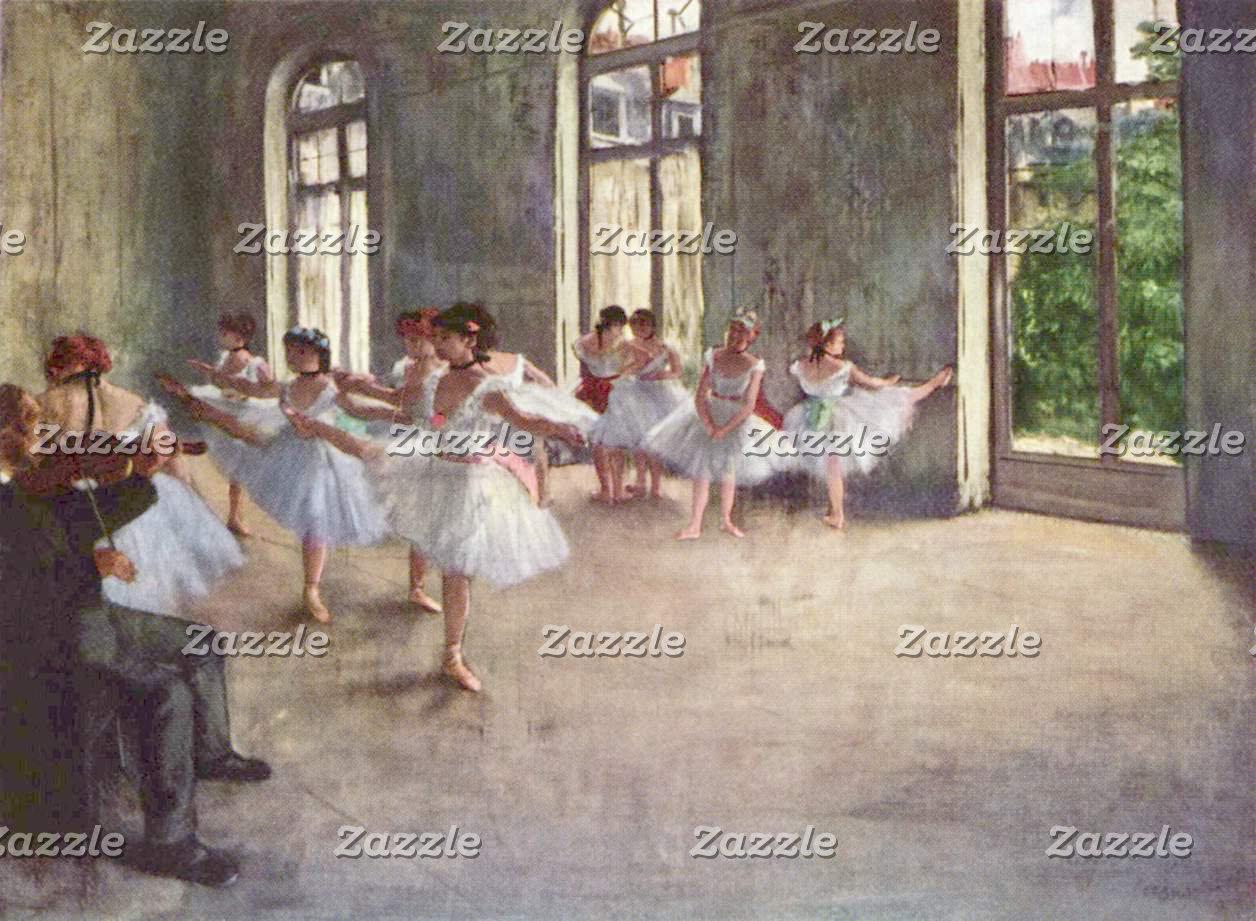 Edgar Degas   The Ballet Rehearsal