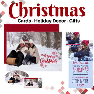 Christmas (Cards, Gifts & Home Decor)