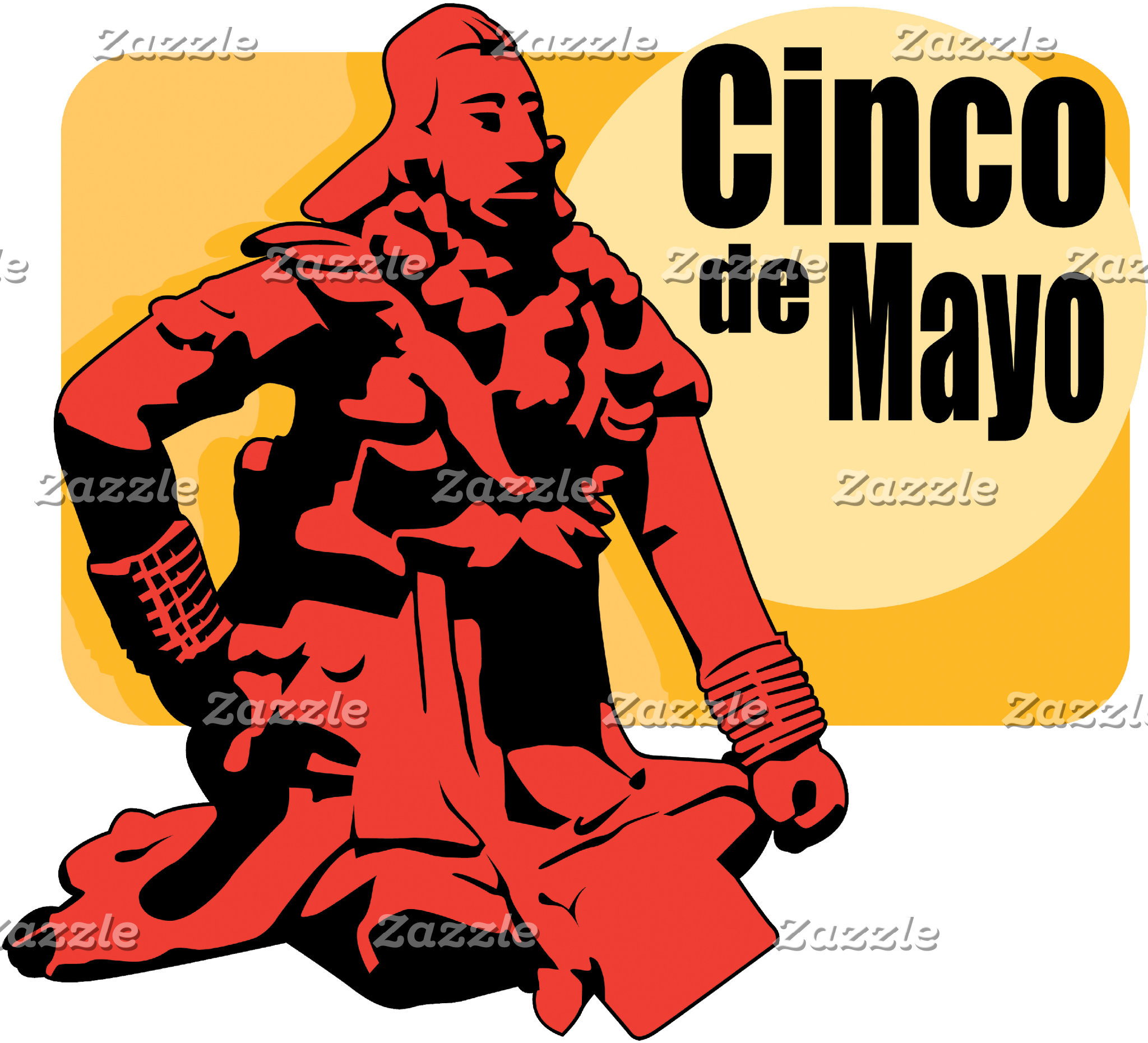 Cinco de Mayo Holiday T-Shirt Gift Cards