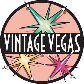 Vintage Las Vegas Wedding Invitations