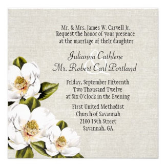 Southern Magnolia Wedding Set