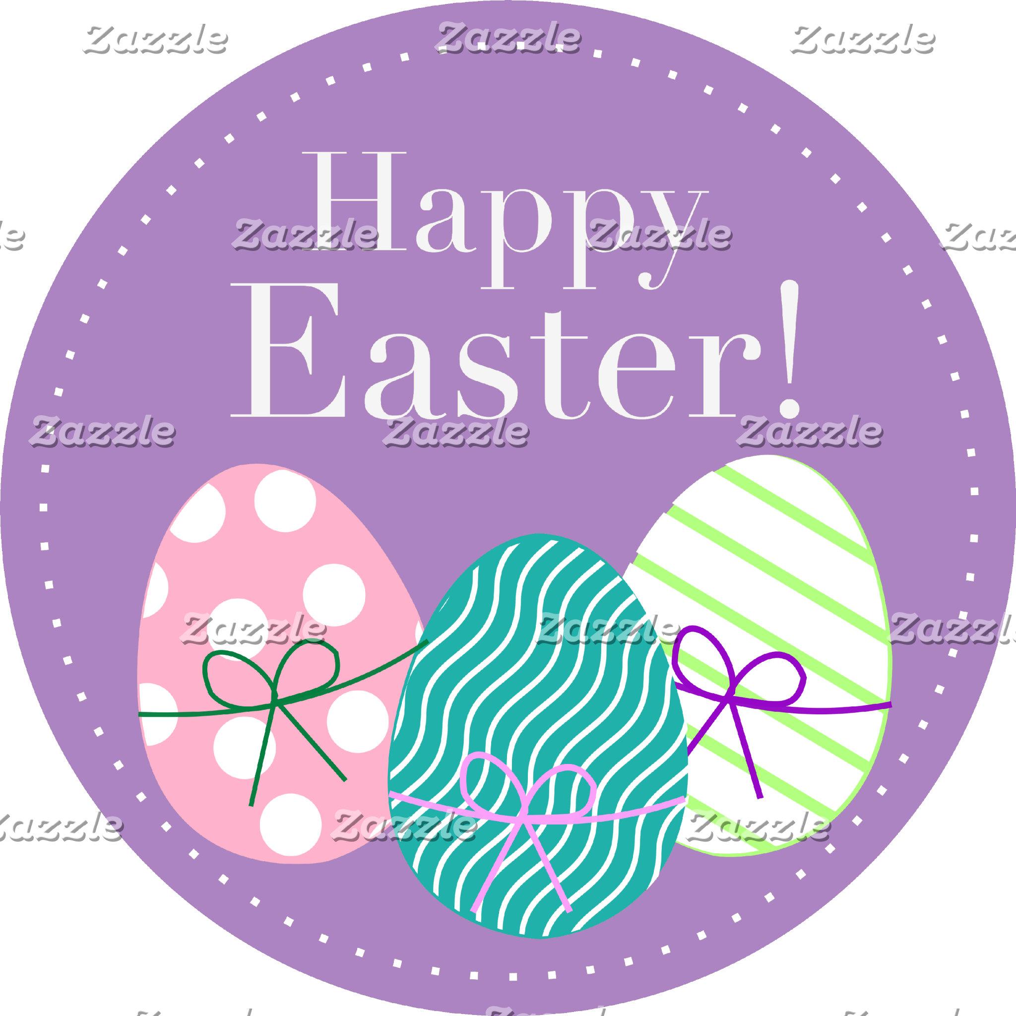 Happy Easter - Purple