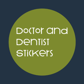 Doctor and Dentist Stickers