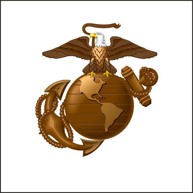 Eagle Globe Anchor Logos