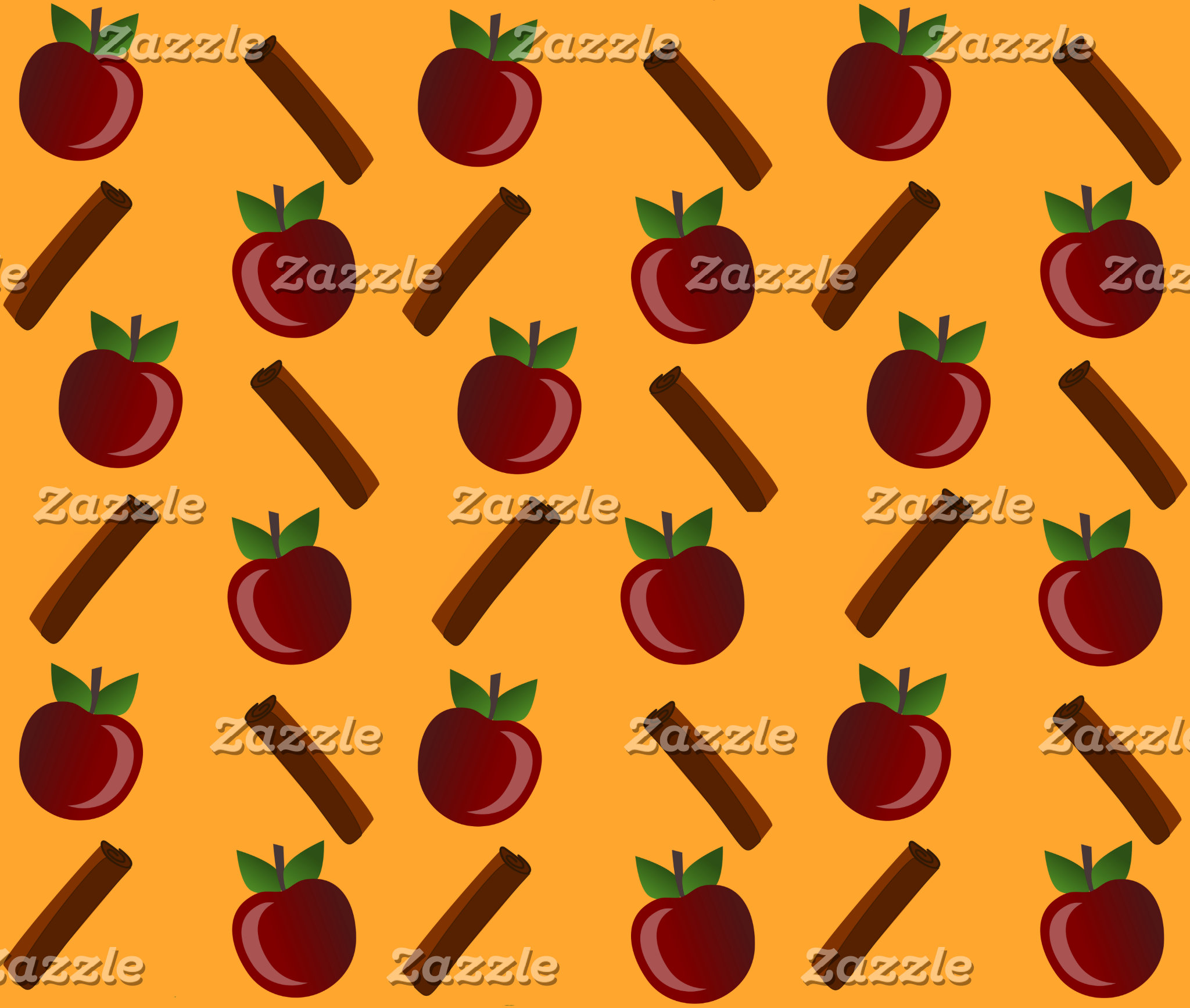 Apple Cinnamon Pattern
