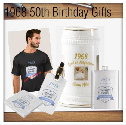 1968 50th Birthday Gifts