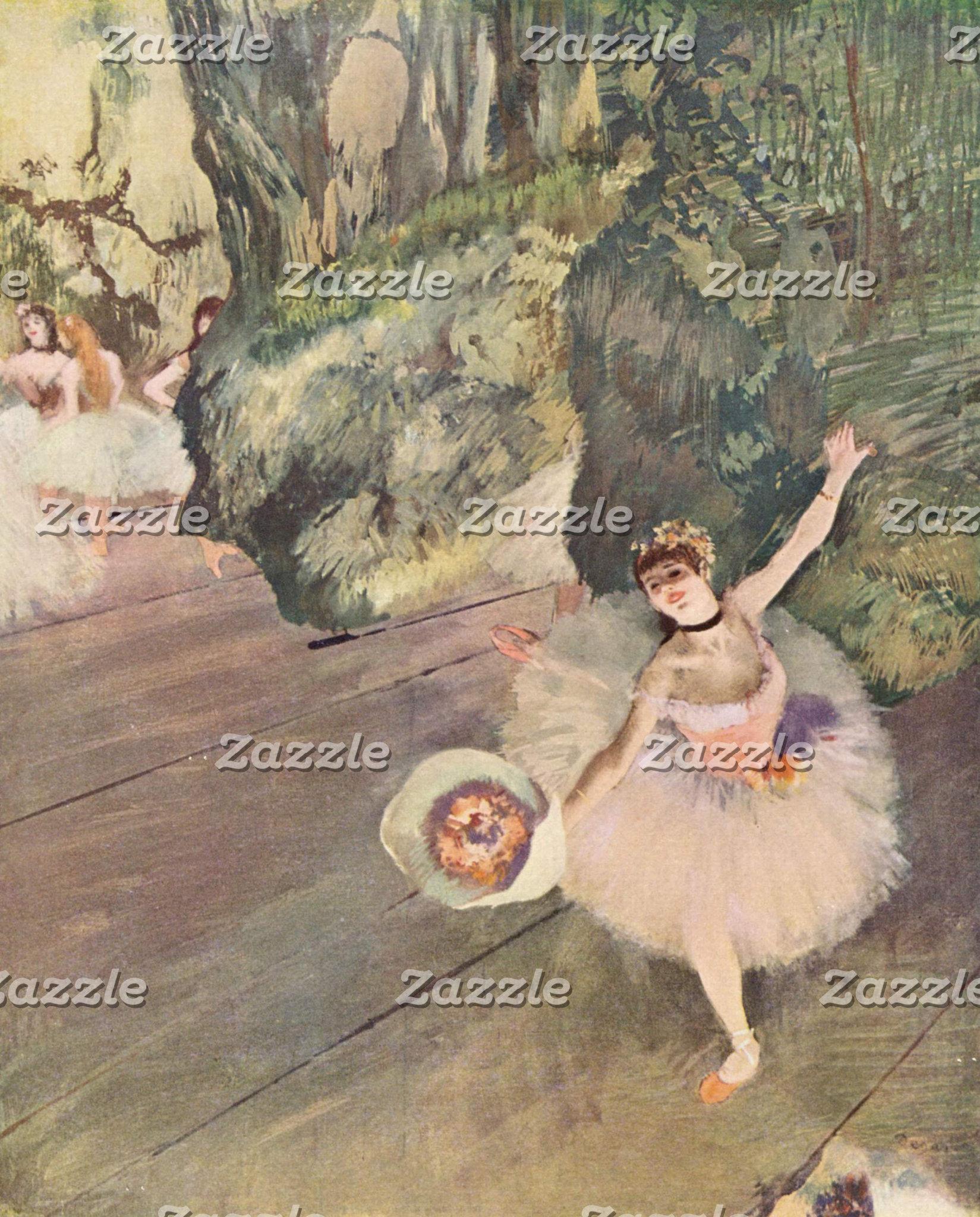 Edgar Degas   Dancer Takes a Bow