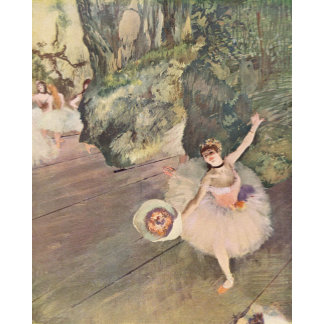 Edgar Degas | Dancer Takes a Bow