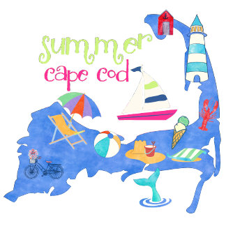 Summer Cape Cod Map