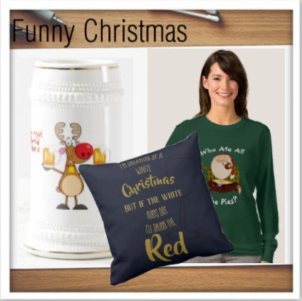 Christmas - FUNNY Decor/Tees