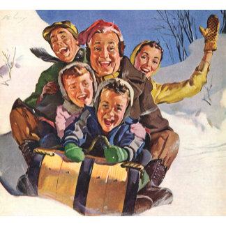 Vintage Christmas People and Pets