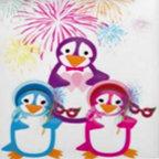 Mardi Gras Penguins