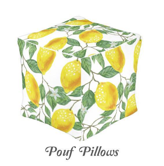 POUF PILLOWS