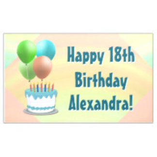 Birthday Party Banners and Custom Yard Signs
