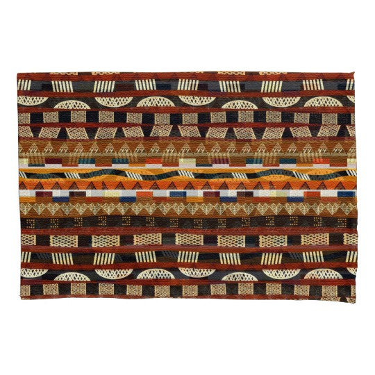 African Pattern and Print   Pillowcase