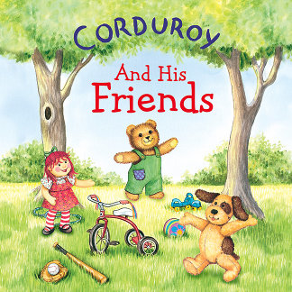 Corduroy Playing With His Friends
