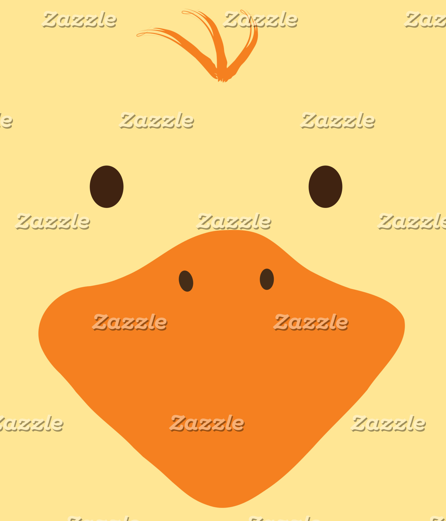 Cute Little Ducky Face