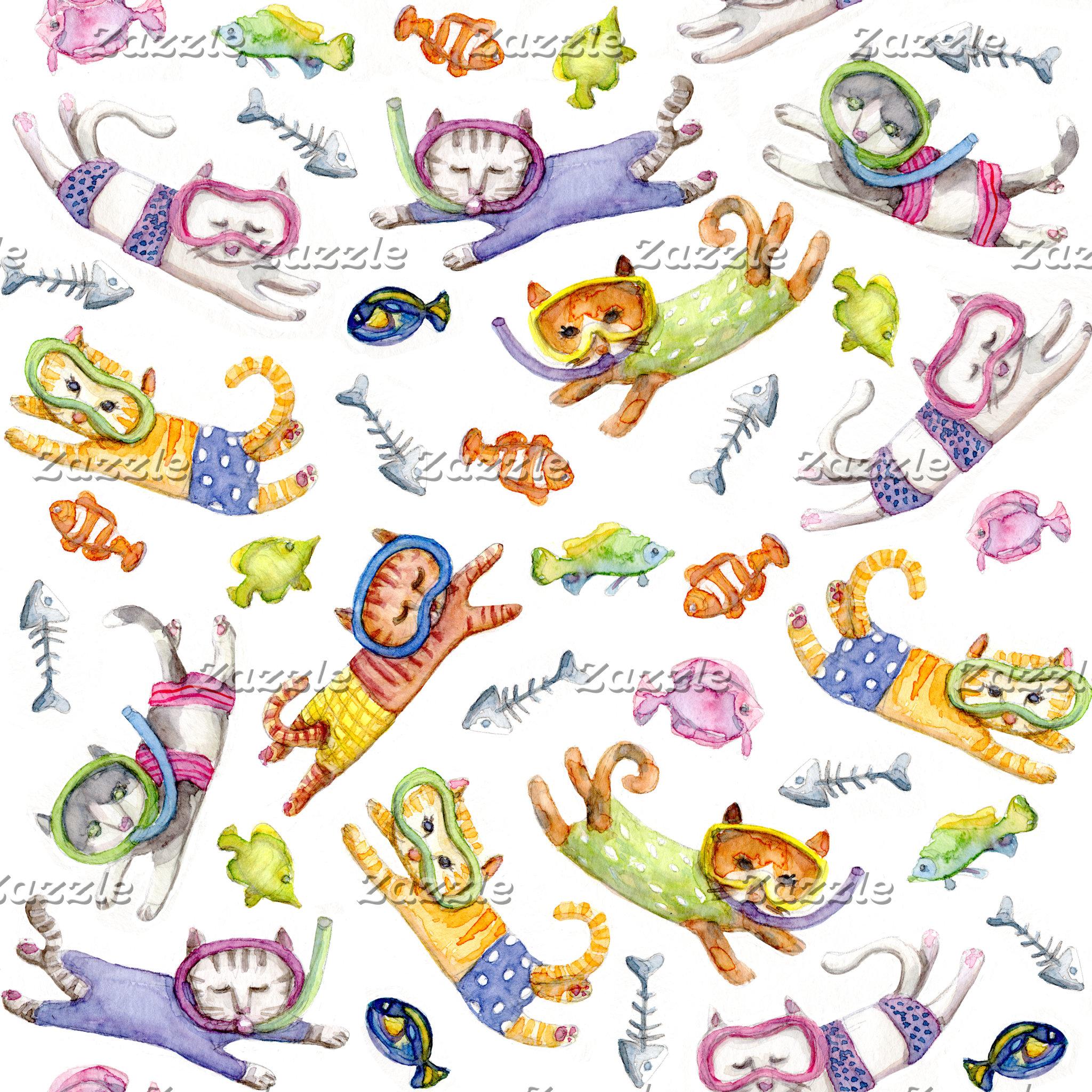 Scuba Cats