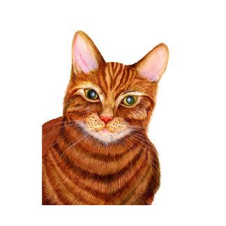 Ginger Cat Watercolour