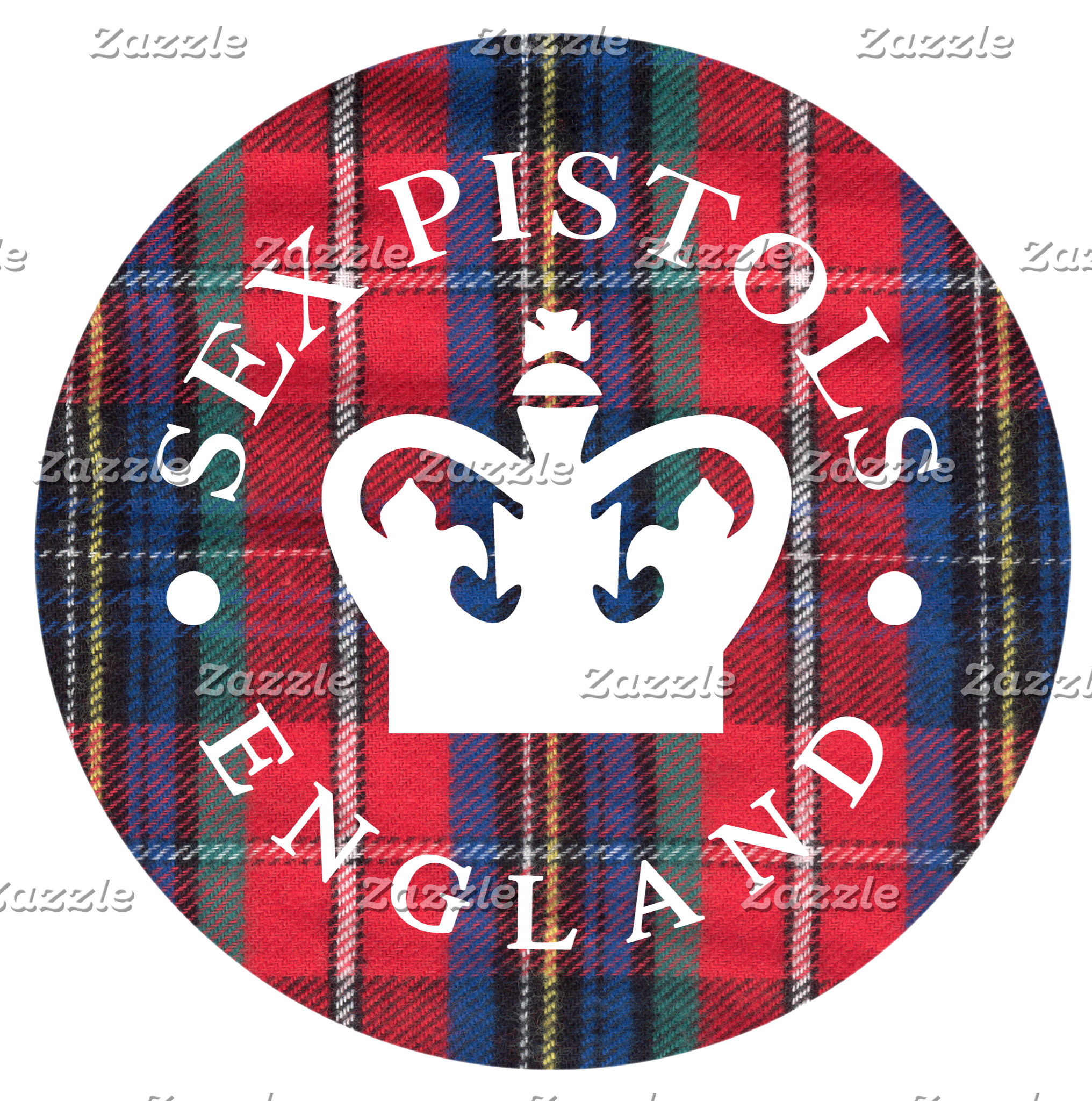 Sex Pistols England Plaid